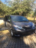 2017 Toyota Sienna LE Wheelchair van for sale