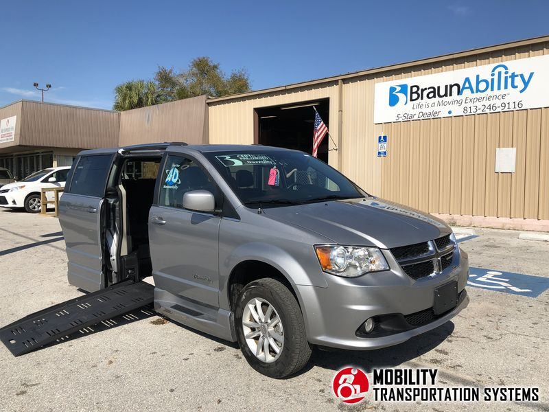 2018 Dodge Grand Caravan Sxt BraunAbility Dodge Entervan XT wheelchair van for sale