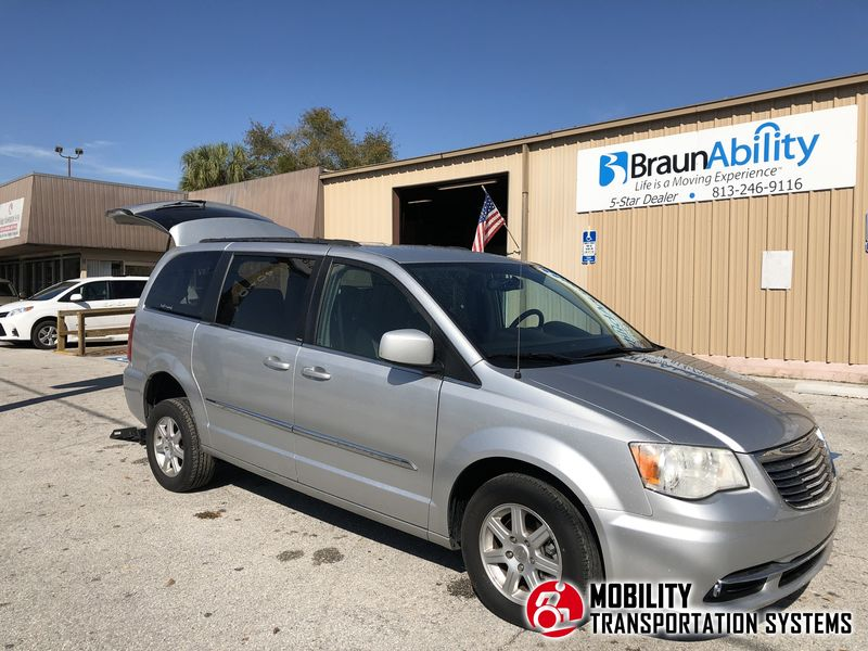 Used 2012 Chrysler Town & Country Touring.  ConversionFR Wheelchair Vans FR Conversions Dealers