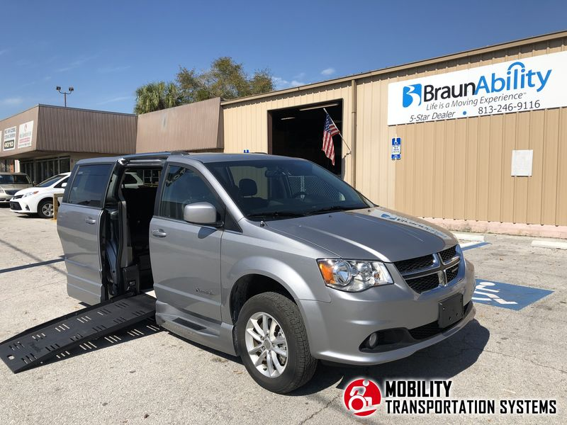 Used 2013 Dodge Grand Caravan Sxt.  ConversionBraun Entervan