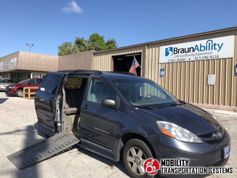 Used 2006 Toyota Sienna.  Conversion