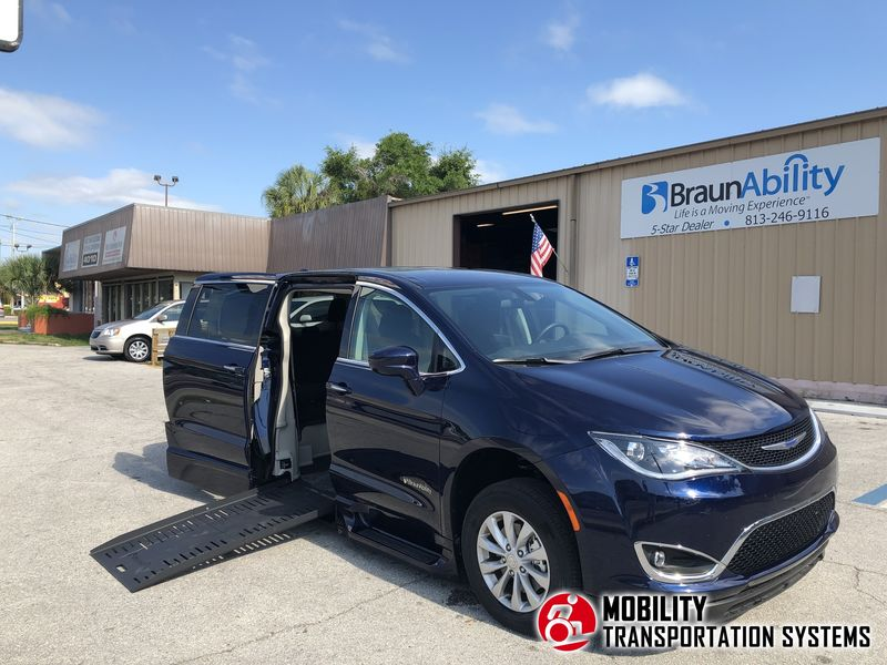 New 2018 Chrysler Pacifica.  Conversion