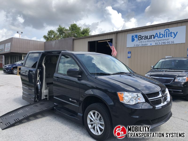 Used 2014 Dodge Grand Caravan.  Conversion