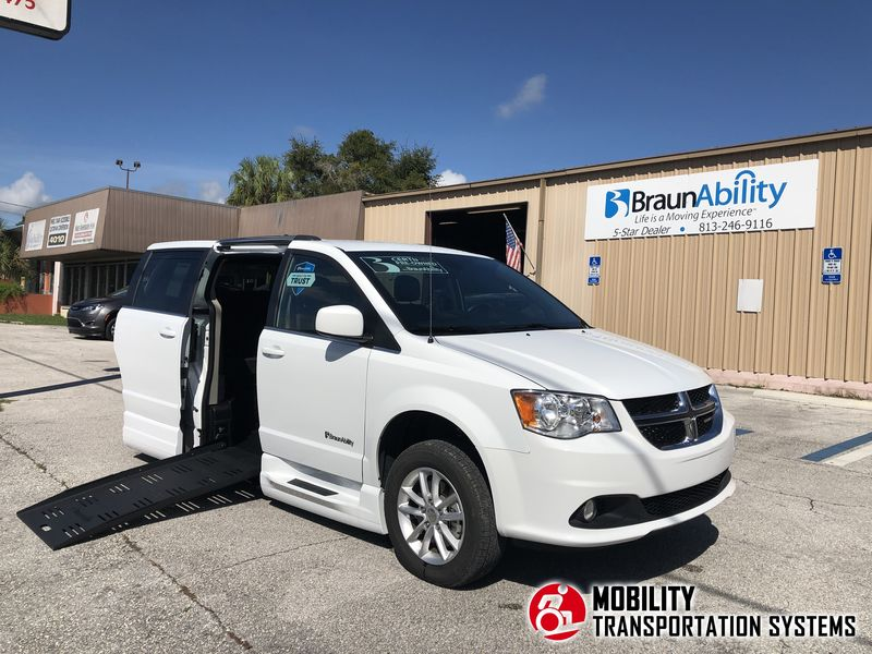 Used 2019 Dodge Grand Caravan.  Conversion
