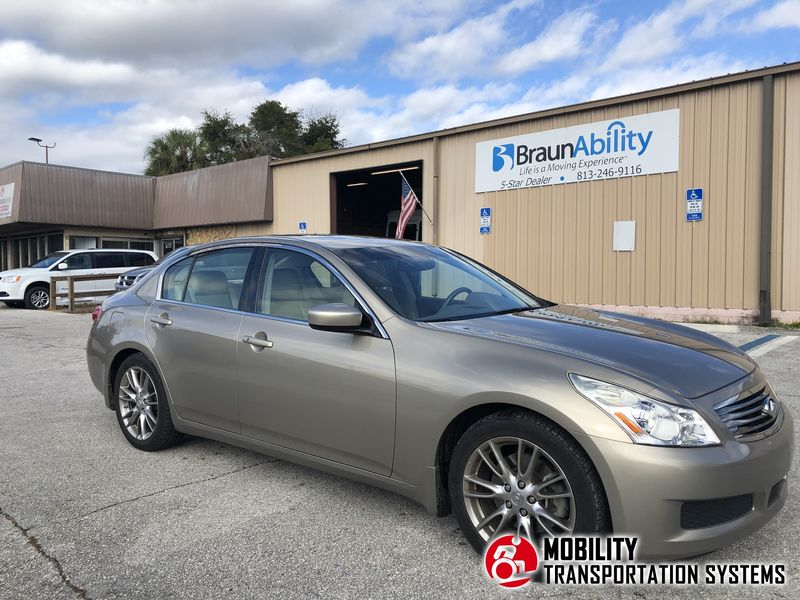 Used 2009 INFINITI G37.  Conversion
