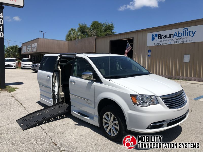 Used 2016 Chrysler Town and Country.  ConversionBraunAbility Chrysler Pacifica Foldout XT