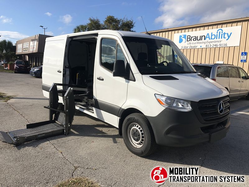Used 2019 Mercedes-Benz Sprinter.  Conversion